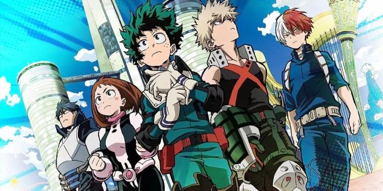 personagens boku no hero