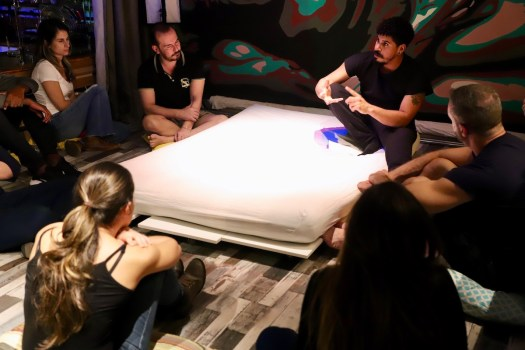 Workshop de Tantra estúdio NU Rajan Massagem Tântrica