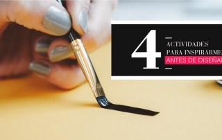 4 actividades que realizo antes de diseñar - Branding