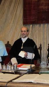 Rector de la Universidad de Salamanca, Daniel Hernández Ruipérez,