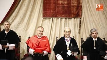 DISCURSO PRONUNCIADO POR EL Rector Magnífico de la Universidad de Salamanca, Daniel Hernández Ruipérez.