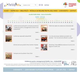 Website de prezentare cu module suplimentare lucrat de E-Studio.ro