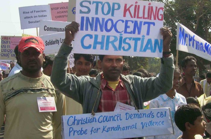 Passeata Cristã na Índia