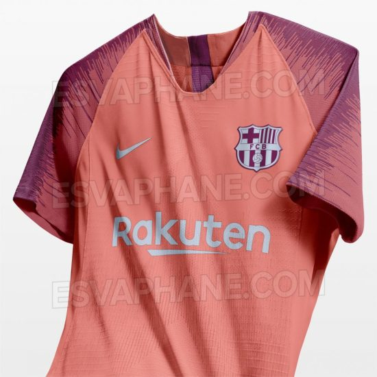 Tercera camiseta Barcelona 2018 2019