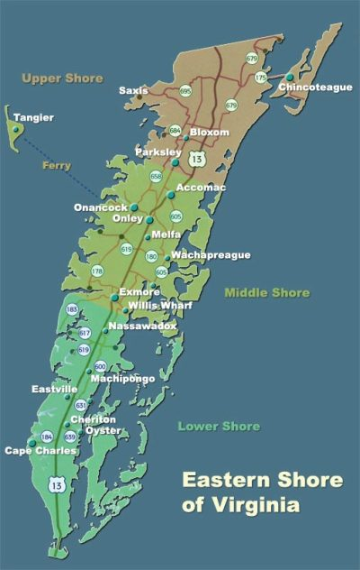 The Route Less Traveled: Boating Virginia's Eastern Shore ...
