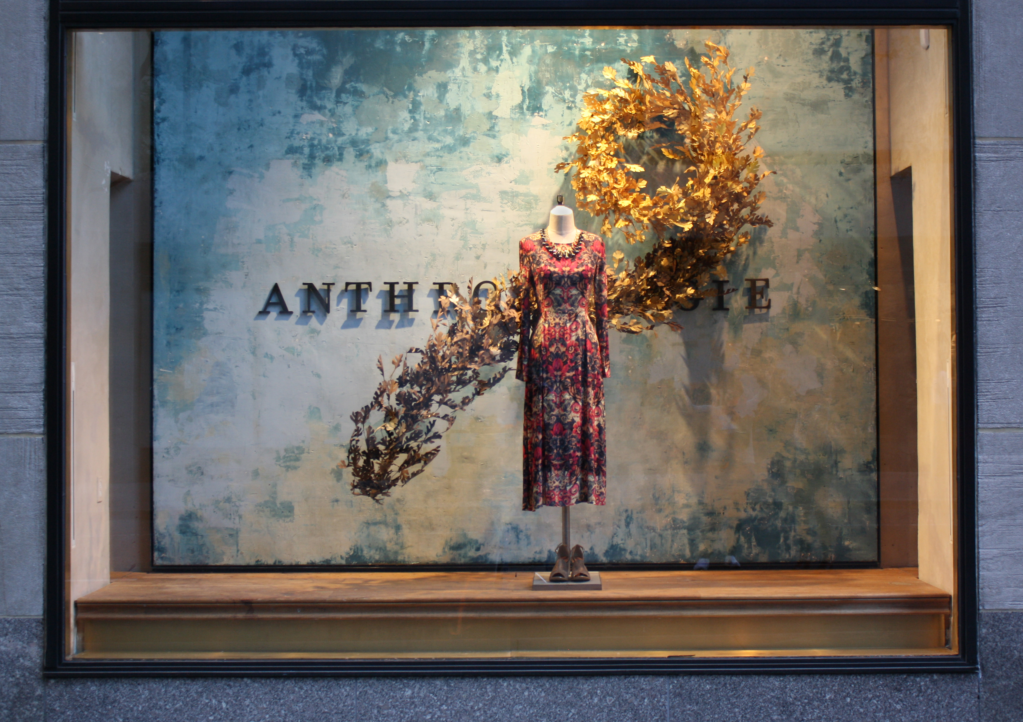 Fall Windows For Anthropologie At Rockefeller Center And