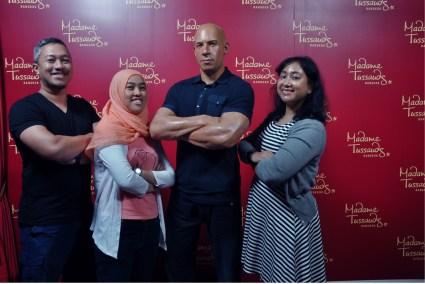with Vin Diesel