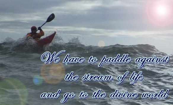 Divine paddle