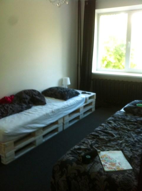 Zimmer der Mitbewohnerinnen