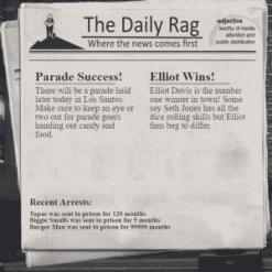 Newspaper script