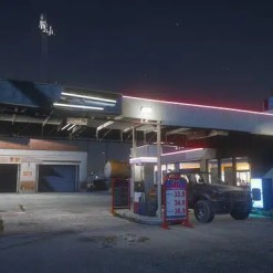 Sandy Shores Gas Station