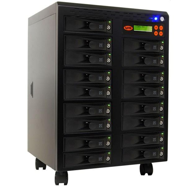 Systor 1 16 Sata Hard Disk Drive Hdd Ssd Duplicator Sanitizer 300mb Sys3016el
