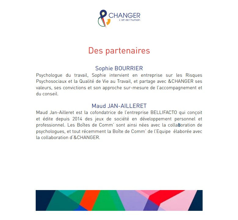 Catalogue &CHANGER