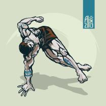 Illustration : Capoeira – 370 [ #capoeira #vectoriel #illustration]