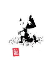 Encres : Capoeira – 459 [ #capoeira #watercolor #illustration] Encre sur papier 190gr / Ink on paper 190gr 14.8 x 21 cm / 5.8″ x 8.3″
