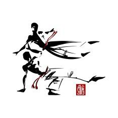Illustration : Capoeira – 463 [ #capoeira #vectoriel #illustration] Réalisée avec Mypaint et Inkscape / Made with Mypaint and Inkscape