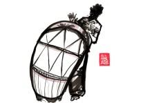 """Encres : Capoeira – 484 """"Atabac"""" [ #capoeira #watercolor #illustration] Encre sur papier 190gr / Ink on paper 190gr 21 x 29.7 cm / 8.3 x 11.7 in"""