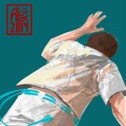 Illustration : Capoeira – 680 [ #capoeira #krita #illustration] Illustration digitale / Digital illustration 2000 x 2000 px