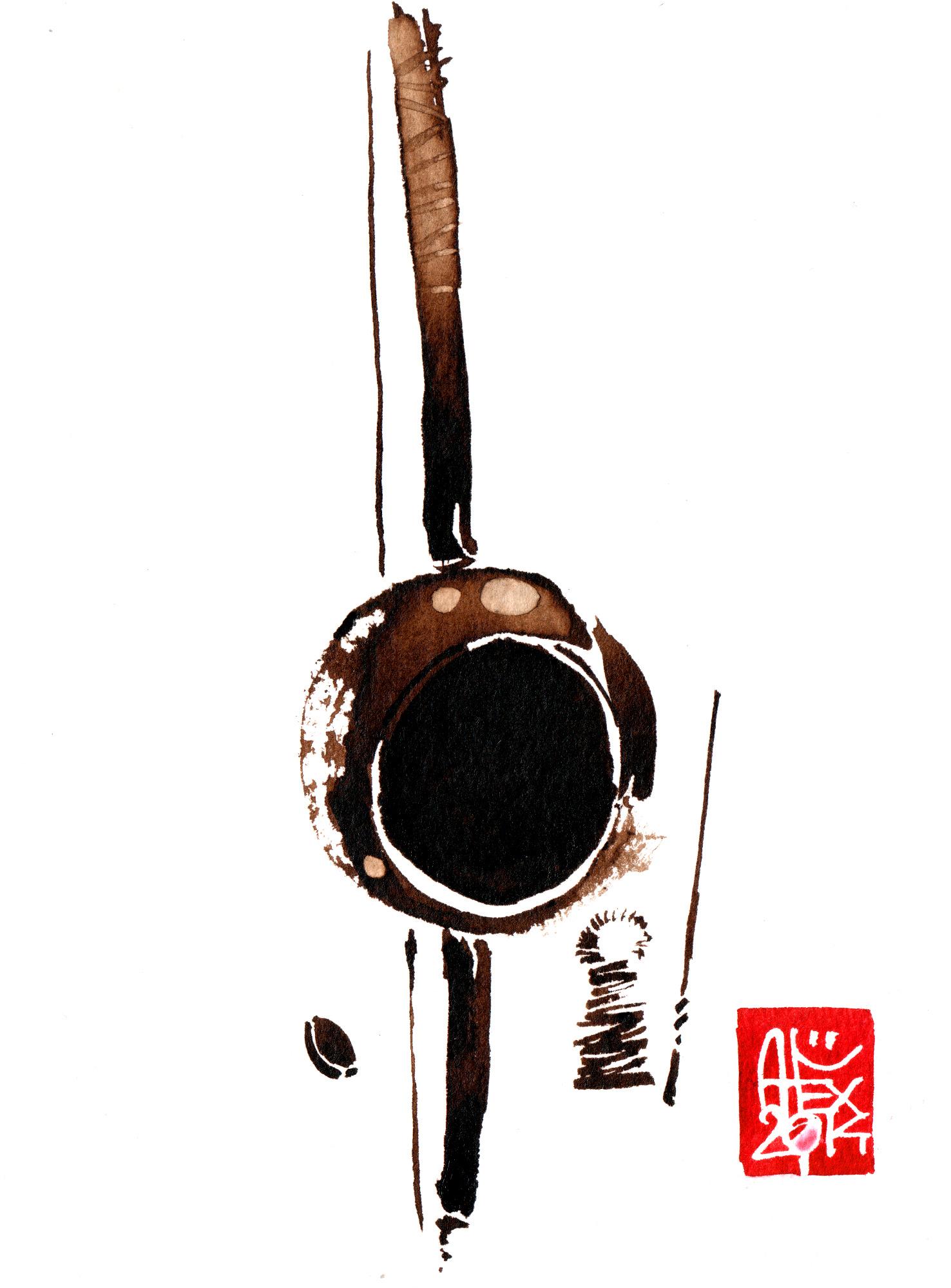 Illustration : Capoeira – 718 [ #capoeira #watercolor #illustration] aquarelle sur papier 325gr / watercolor on paper 325gr 12 x 16 cm / 4.7 x 6.30 in