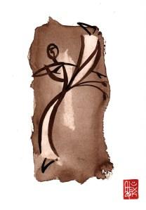 Illustration : Capoeira – 727 [ #capoeira #watercolor #illustration] aquarelle sur papier 325gr / watercolor on paper 325gr 24 x 32 cm / 9.4 x 12.6 in
