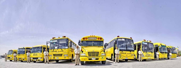 6,380 Emirates Transport buses carry 256,000 students on start of 3rd school term