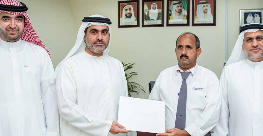 Emirates Transport Honours two School Transport drivers for their honesty