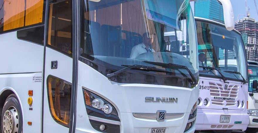 Emirates Transport provides free transfer to participants in Adnoc Abu Dhabi marathon