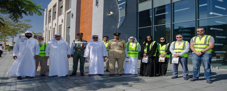 Emirates Transport raises awareness among motorists to respect Stop signs on school buses