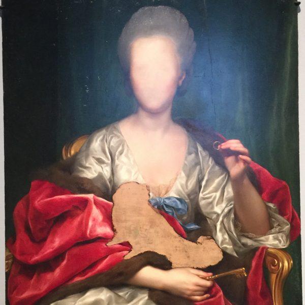 """""""Portrait of Mariana de Silva"""" 1775"""
