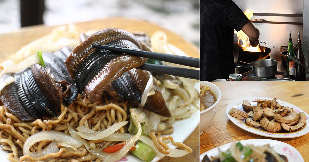 台南 承傳2代30年鱔魚意麵店,鍋氣十足炒香逼人,讓人食慾暴增的台南小吃 台南市永康區|尺二鱔魚意麵