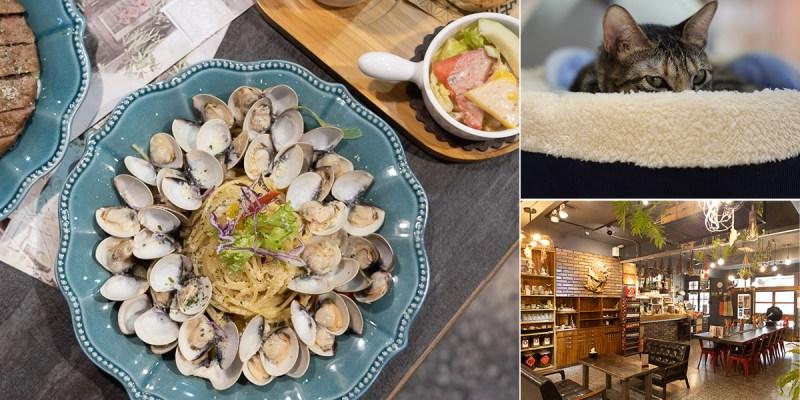 台南 老紡織工廠搖身一變,變成帶點復古,又有點工業風的寵物友善餐廳,讓人放鬆用餐享受慢活的好所在 台南市南區|漫漫弄