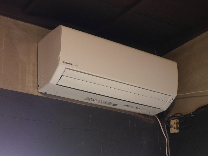 エアコン設置DIY