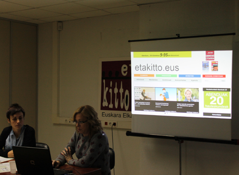 Berritasunez jantzitako www.etakitto.eus eta aldizkaria aurkeztu ditugu