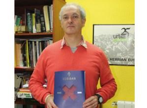 Eibar FT-ren 75 urteak kontatzen dituen liburua aurkeztuko du gaur Jesus Gutierrez historialariak Coliseoan