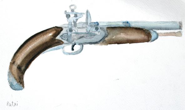 Bustinduitarren arma