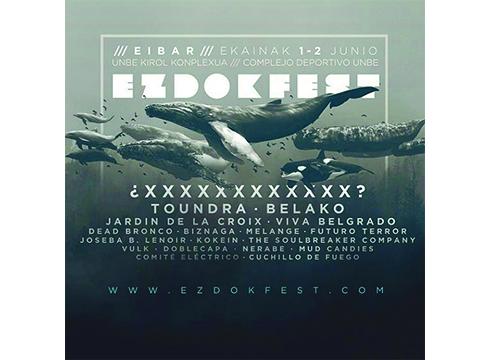 EzDok Fest jaialdia egingo da ekainaren 1 eta 2an Unben