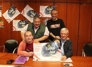 Eibarko 53. Euskal Jaiaren aurkezpena egin dute antolatzaileek Klub Deportiboan