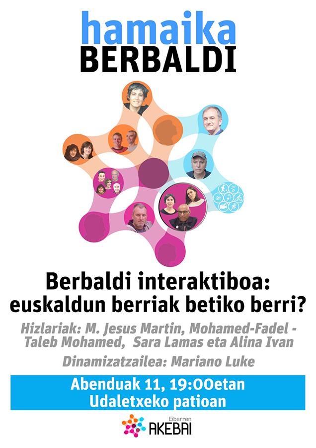 """Hamaika Berbaldi: """"Berbaldi interaktiboa: euskaldun berriak betiko berri?"""""""