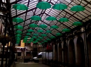 Eibarko Bizikleta Plaza kolore berdearekin argiztatuko dute Minbiziaren Munduko Egunaren harira