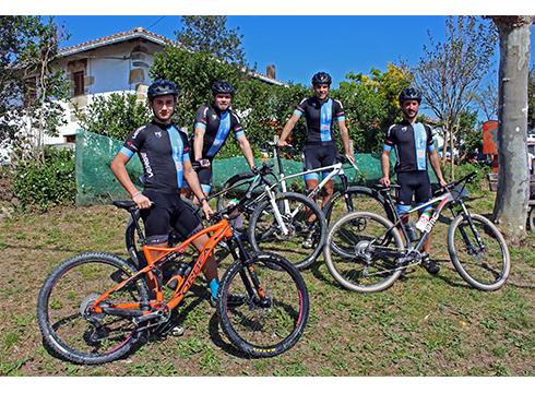 Garajes Garcia – Verge MTB Taldea sortu dute