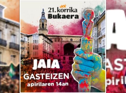 Korrika amaiera jaira joateko autobusa antolatu du AEK Euskaltegiak