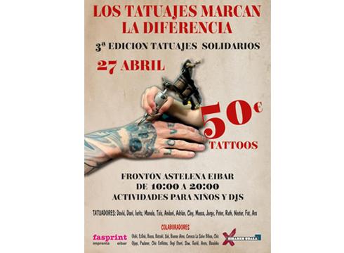 """Los tatuajes  marcan la diferencia"" ekitaldia @ Astelena frontoian"