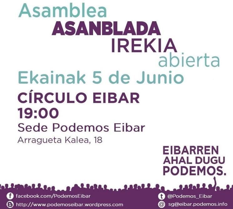 Asanblada Irekia (Elkarrekin Podemos)