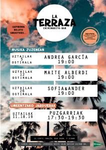 Musika Zuzenean: Sofia&Ander @ El Corte Ingleseko terrazan (euria egitekotan jarduera beste egun batean egingo da)