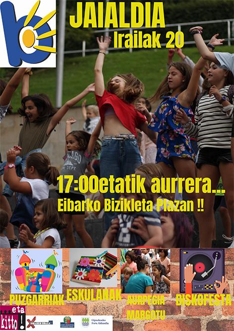Berbetan jaialdia Bizikleta plazan