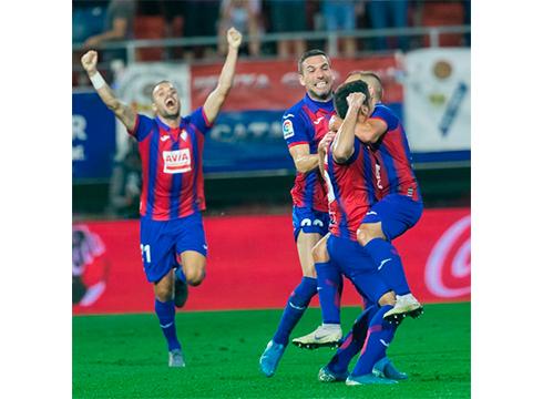 Eibar FT-k Celta hartuko du domekan Sevilla gainditu ondoren