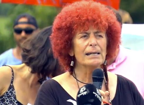 """Itziar Fernandez, G7 EZ plataforma: """"G7-aren aurkako kontra-gailurrak alternatiben gailurra eraiki du"""""""