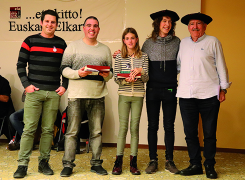Aukeratu dituzte San Andres Bertso Paper lehiaketako irabazleak