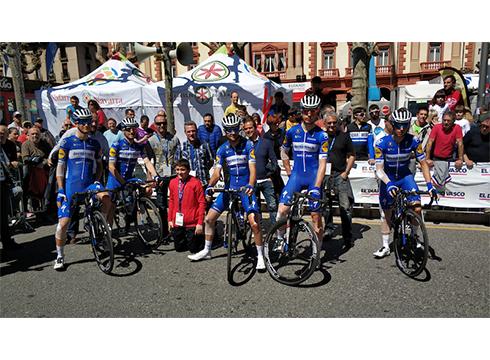 Espainiako Vueltaren lehen etapa Eibarren amaituko da urriaren 20an