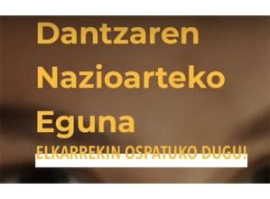 Dantzaren Nazioarteko Egunean kate bat eraiki nahi dute KAXAk eta Kezkak